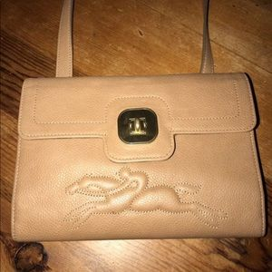 Longchamp crossbody wallet